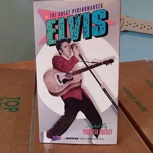 VHS of Elvis